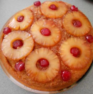 Iron Skillet Pineapple Upside Down Cake Recipe