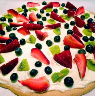 Cookie Fruit Pizza Recipe